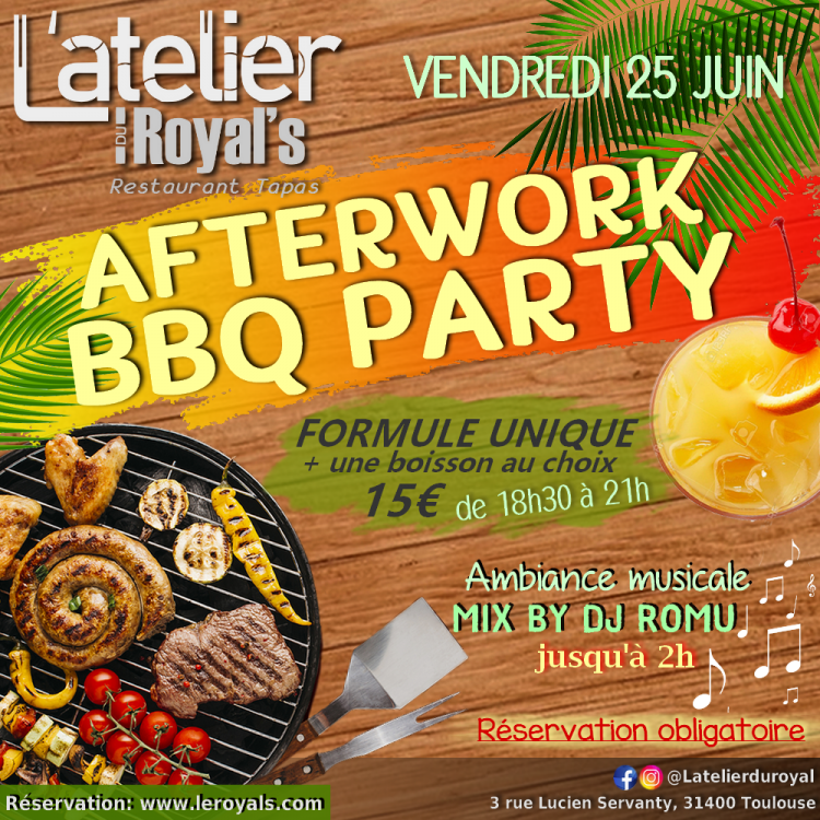 Afterwork bbq party