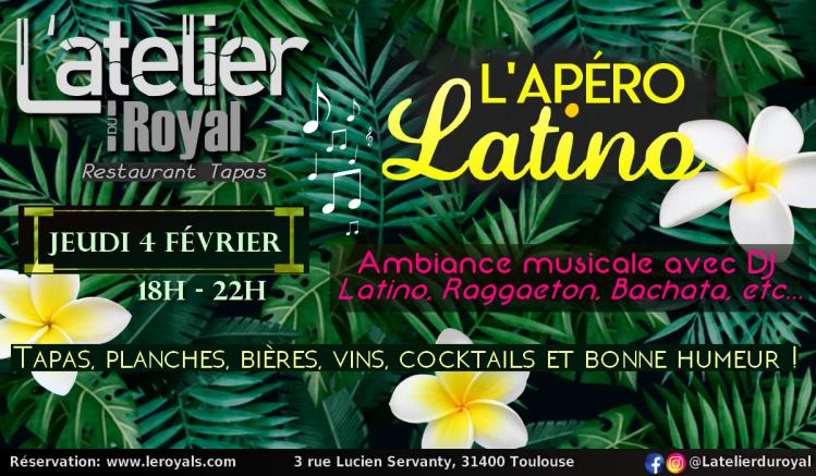 L'apéro Latino 0402 L'atelier du royal