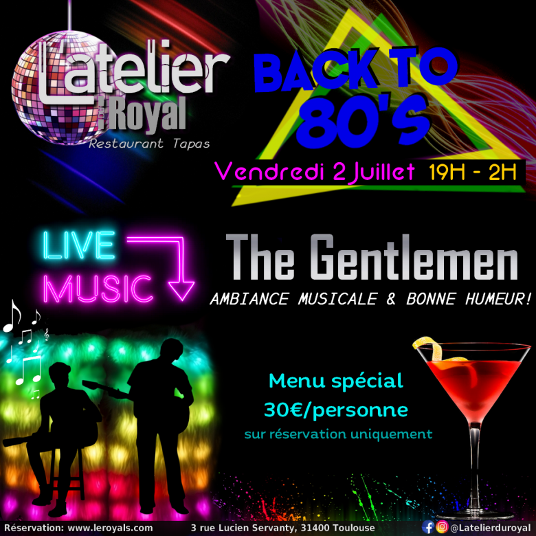 Back to 80s 0207 l atelier du royal