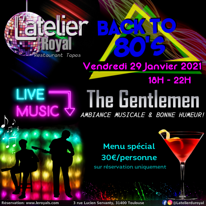 Back to 80s 2901 L'atelier du Royal