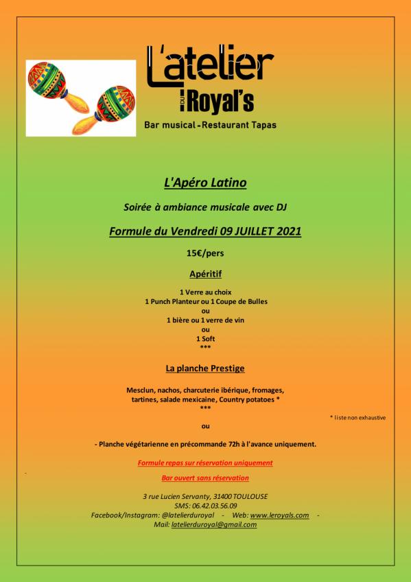 Formule 15 apero latino du 09 07 2021 1