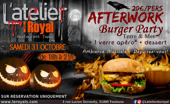 Halloween 2020 L'atelier du Royal