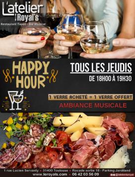 Happy hour Jeudis @ L'atelier du Royal