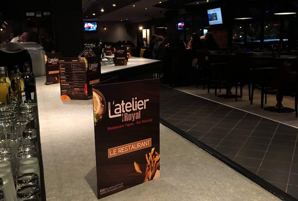L atelier du royal restaurant tapas bar toulouse