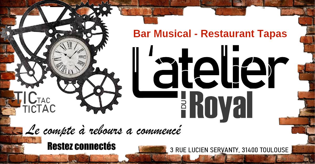 L atelier du royals restaurant bar tapas bannière