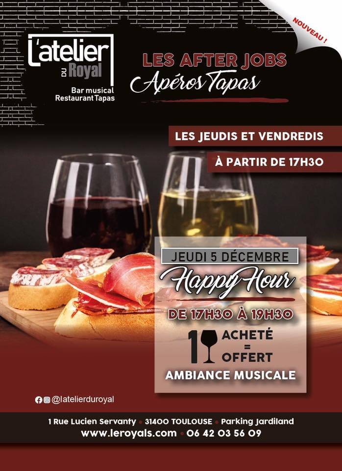 Latelier du royal happy hour 0512