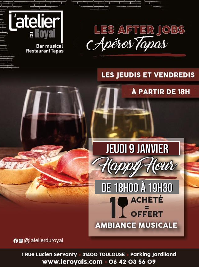 Latelier du royal happy hour 0901