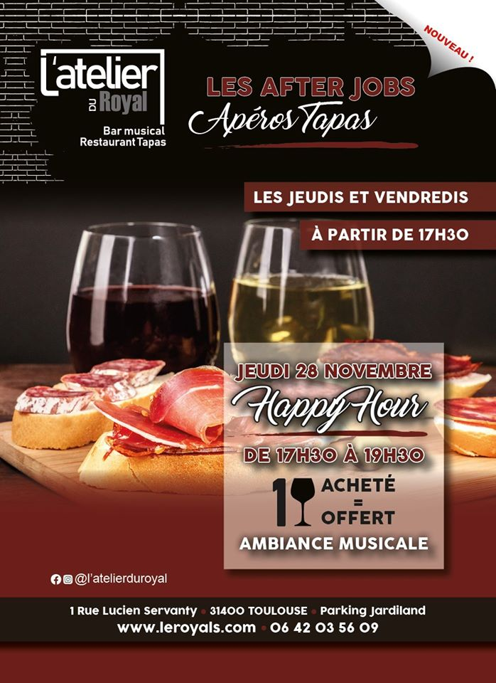 Latelier du royal happy hour 2811