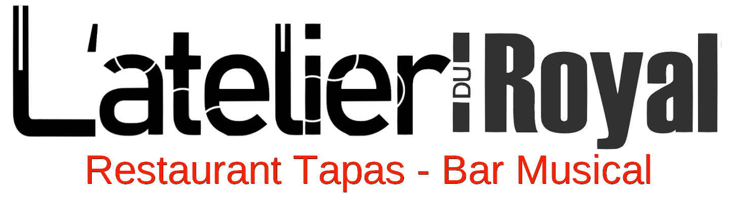 Logo L'atelier du Royal - Restaurant Tapas Bar Musical