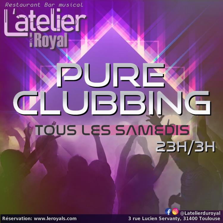Samedis Pure Clubbing