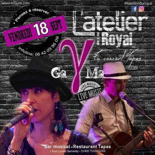 Gama - Soiree Live Concert @ L'atelier du Royal