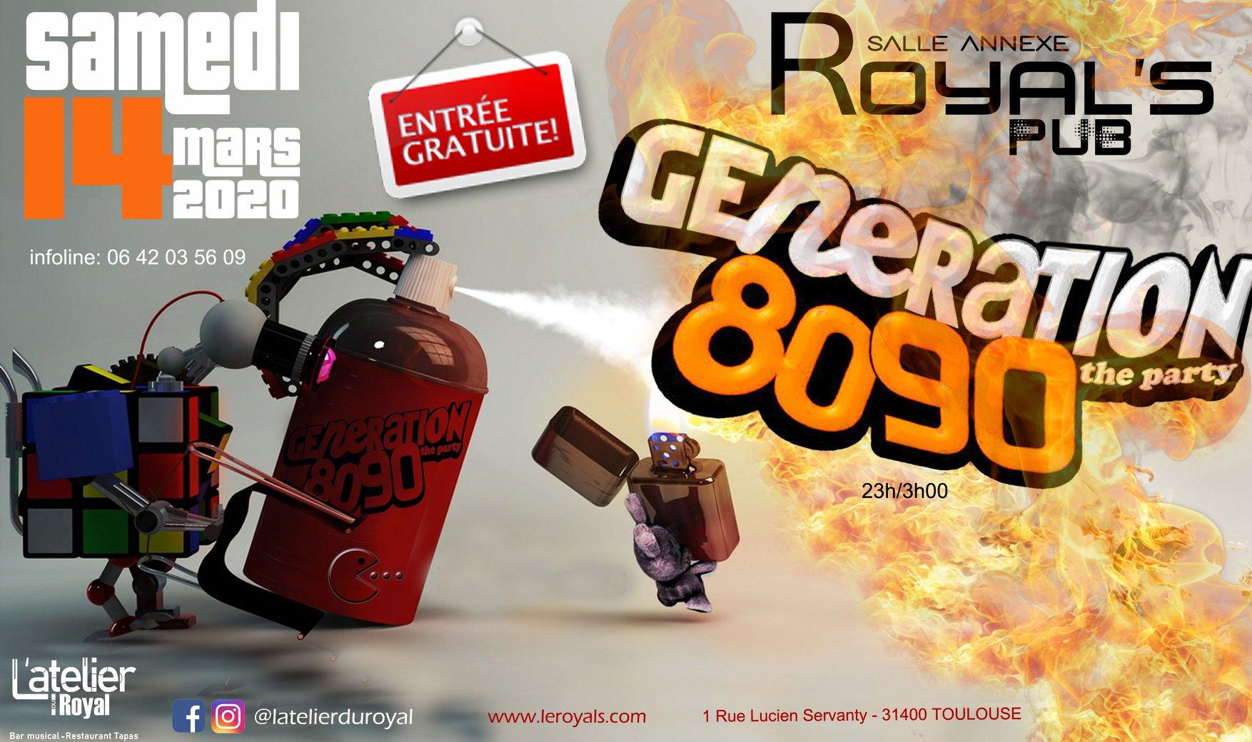 Soiree generation 80 90s 1403