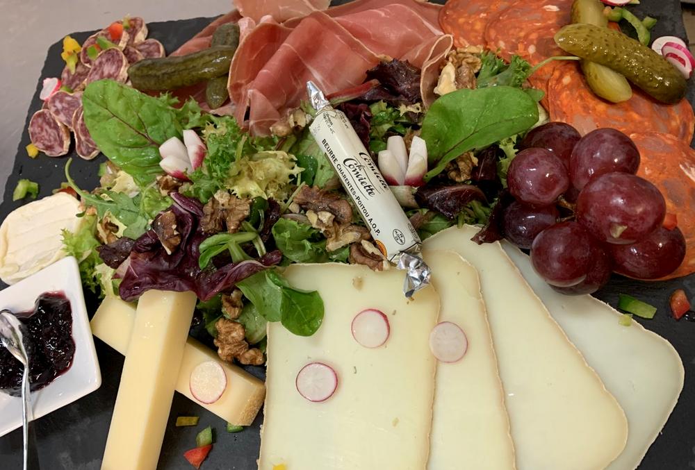 L atelier du royal restaurant tapas bar toulouse assiette mixte